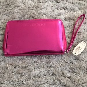 Victoria's Secret Pink Metallic wallet